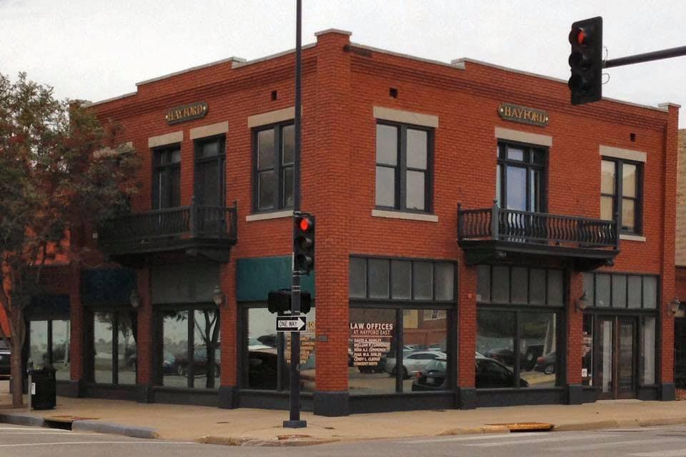 Marty Keenan is located a short walking distance from Wichita City Court and Sedgwick County District Court.