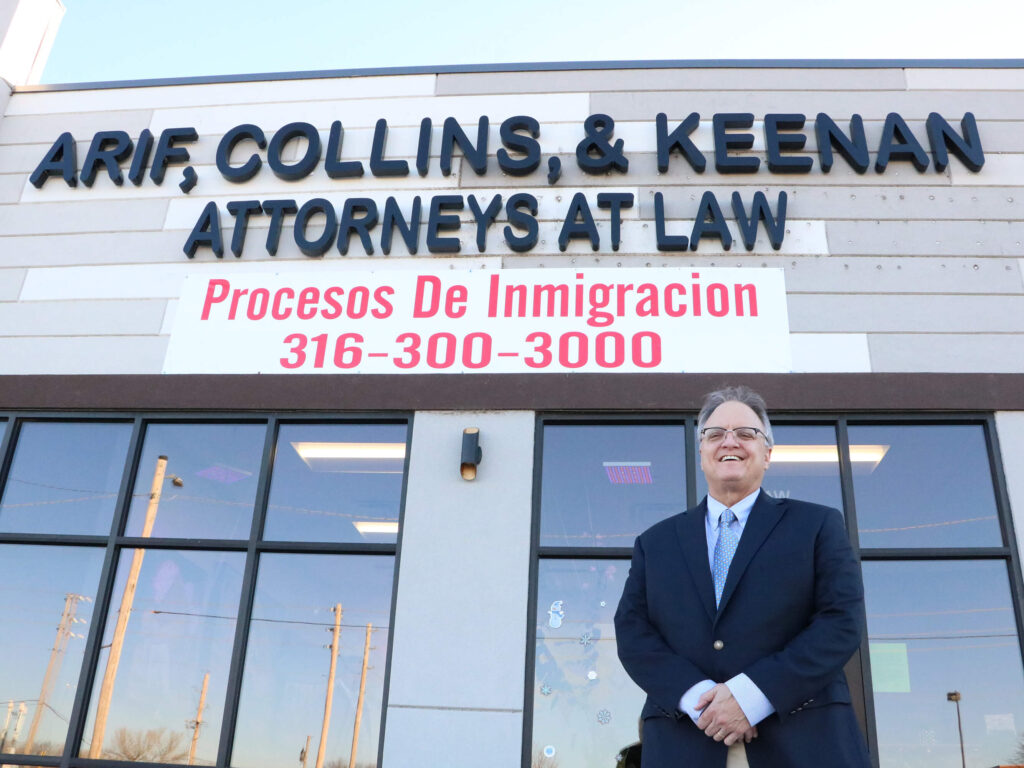 Marty Keenan takes pride as an affordable and accessible criminal defense attorney. While he is located inside the office of Arif & Collins in West Wichita, he does serve surrounding areas throughout Kansas.